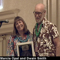 Marcia Opal and Dwain Smith