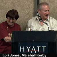 Lori Jones McCaffery, Marshall Korby