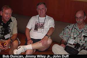 Bob Dunca, Jimmy Wiley, John Duff